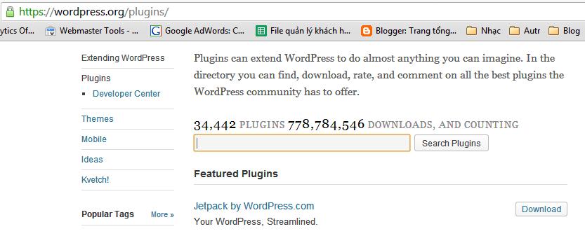 plugins wordpress 4